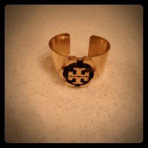 Tory Burch tortoise logo bracelet